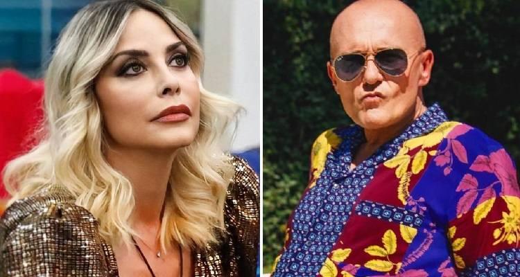 Stefania Orlando e Alfonso Signorini