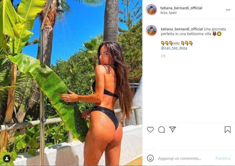 Tatiana Bernardi Lato Posteriore Ibiza