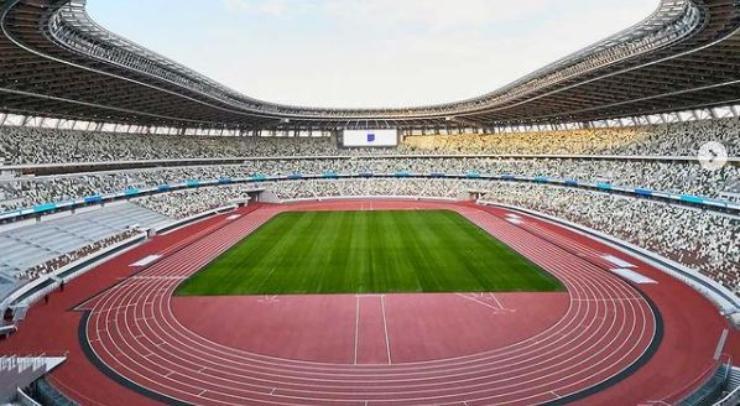 Uno degli stadi per le Olimpiadi