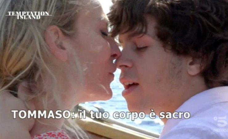 Valentina Nulli Augusti Tommaso Eletti temptation island