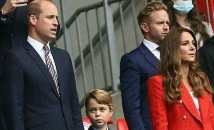 William Kate e George