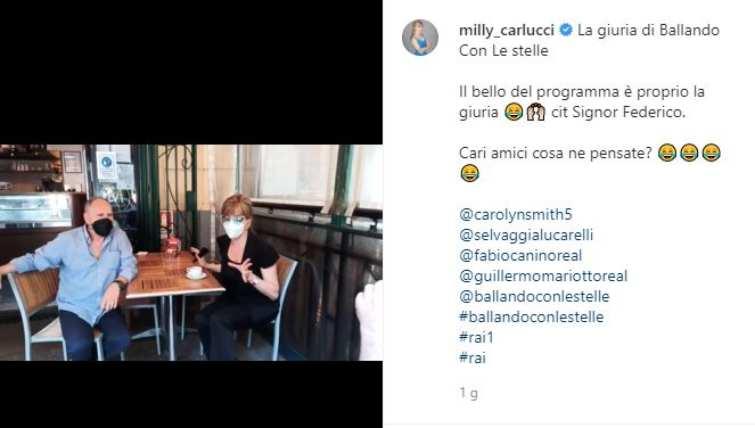 Milly Carlucci spoiler su giuria Ballando con le Stelle