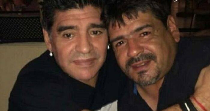 Diego e Hugo Maradona