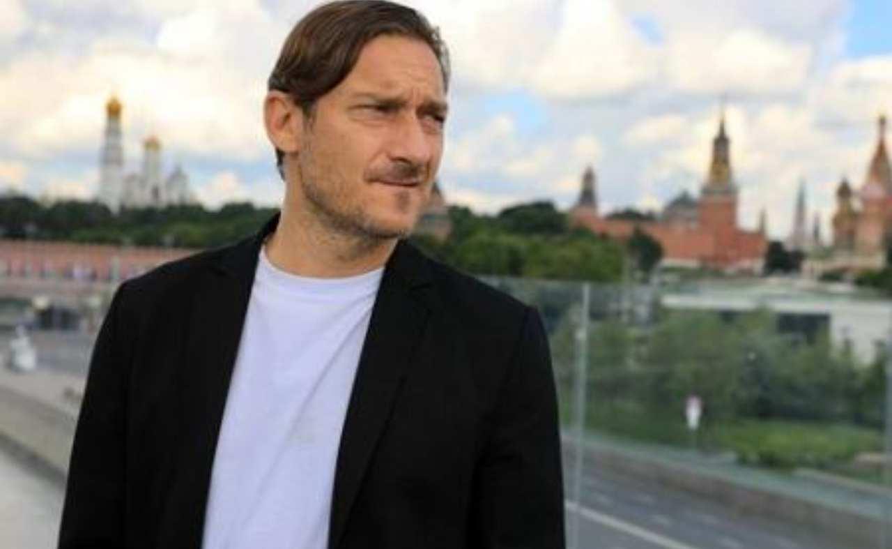 Francesco Totti  primo piano