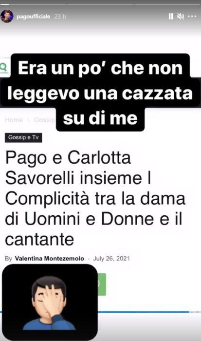 Pago Instagram Story