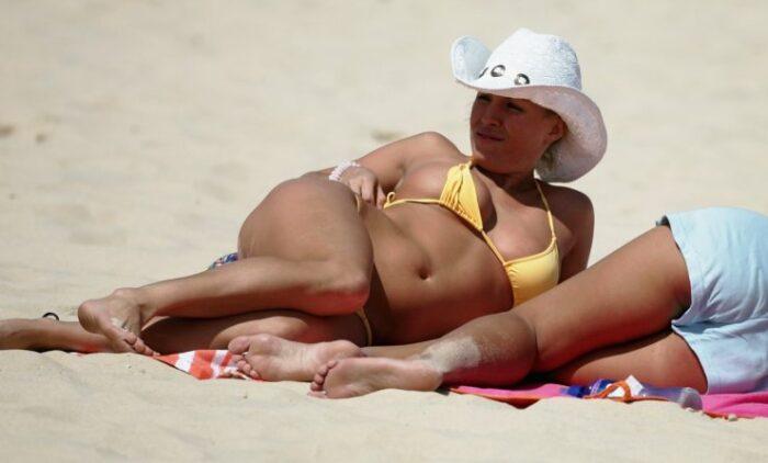 Ragazze in spiaggia