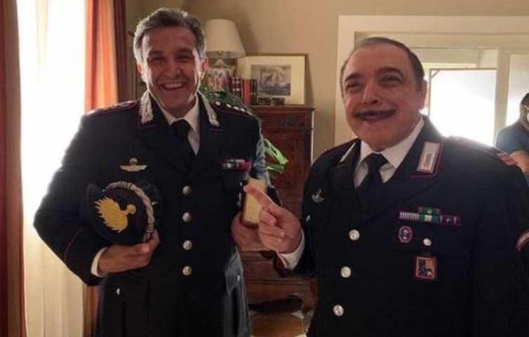 Flavio Insinna e Nino Frassica in Don Matteo