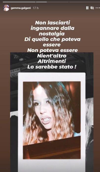 Instagram Story Gemma Galgani