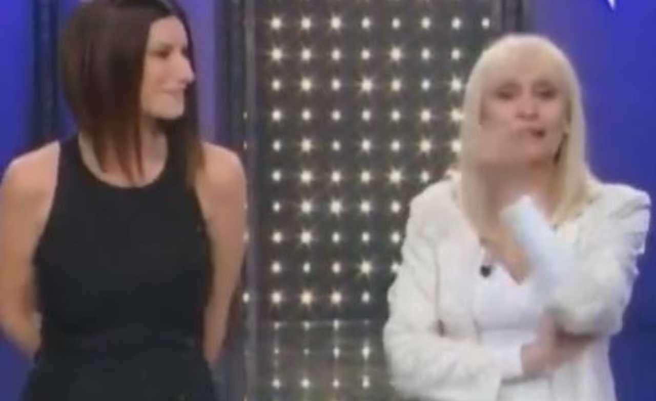 Raffaella Carrà e Laura Pausini