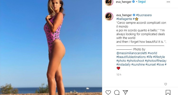 Eva Henger sensuale