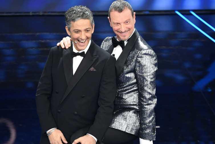 Amadeus e Fiorello Sanremo