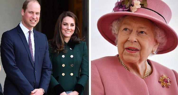 Regina Elisabetta William e Kate