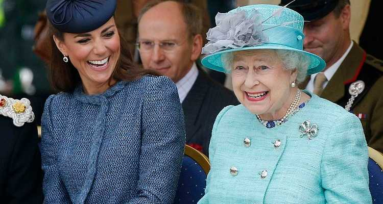 Regina Elisabetta e Kate Middleton retroscena