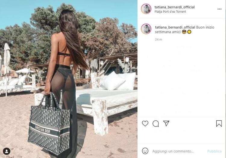 Tatiana Bernardi Lato Posteriore