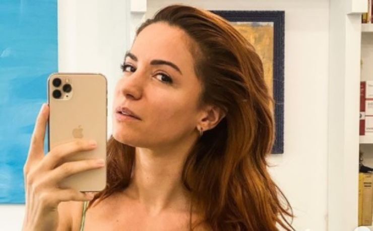 Andrea Delogu selfie