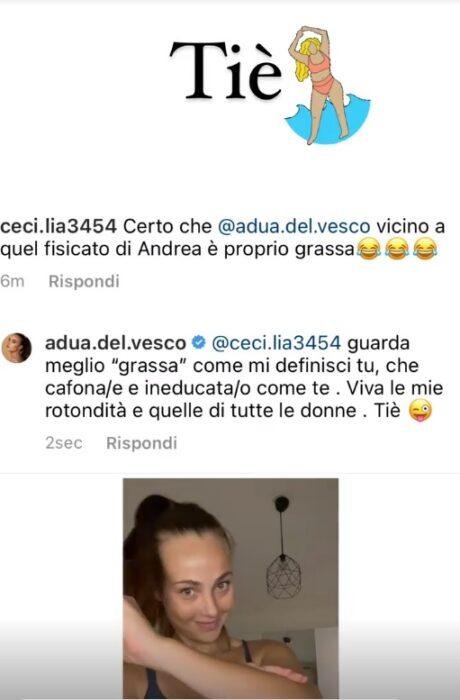 rosalinda cannavò instagram story