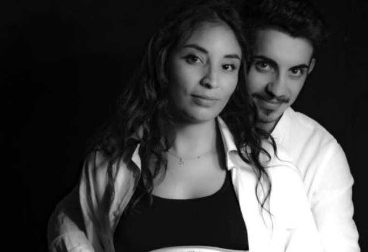 Massimo Stano e la moglie