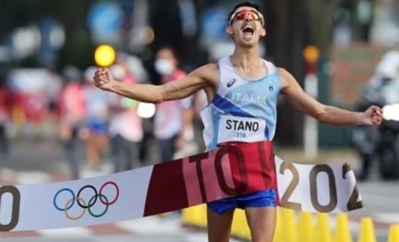 Massimo Stano oro olimpico marcia