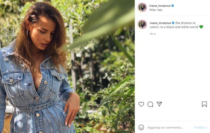 ivana mrazova post Instagram