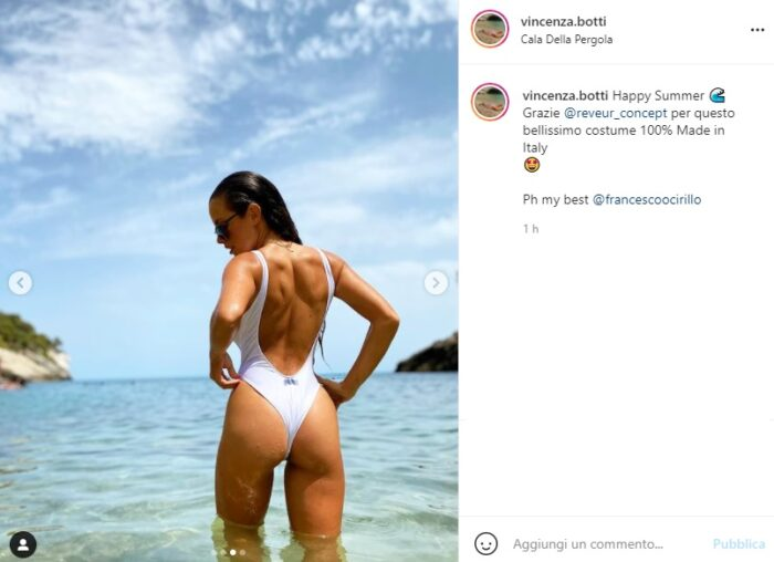 vincenza botti post Instagram