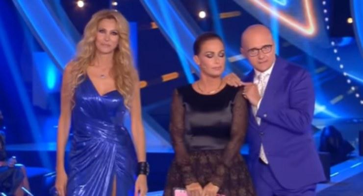 Adriana Volpe, Sonia Bruganelli e Alfonso Signorini