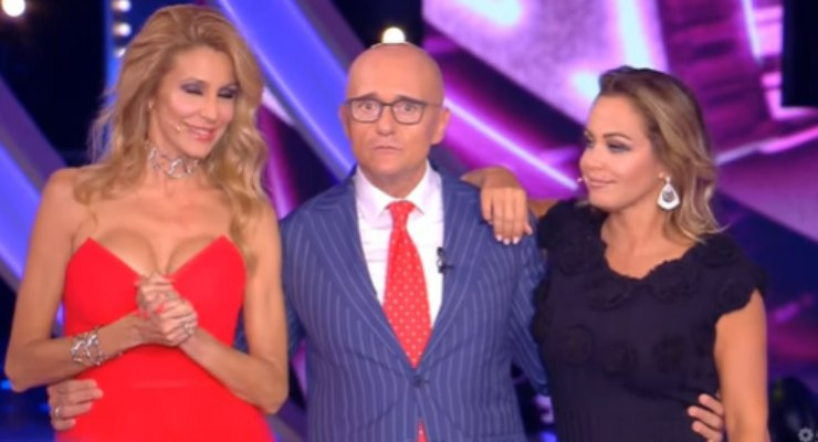 Alfonso, Adriana Volpe e Sonia Bruganelli