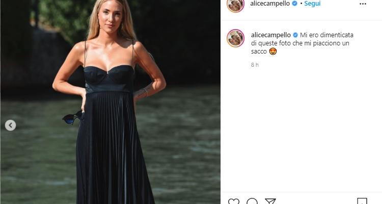 Alice Campello in posa