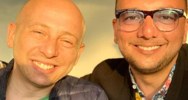 Armando e Giuseppe Armenise sorrisi