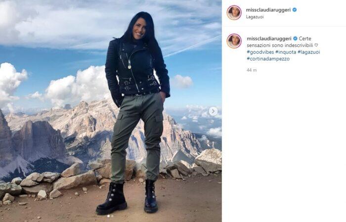 claudia ruggeri post Instagram