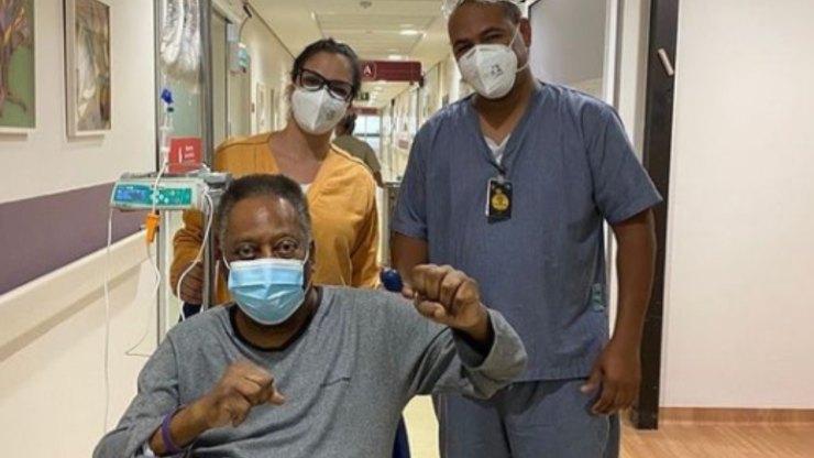 Il campione brasiliano in ospedale