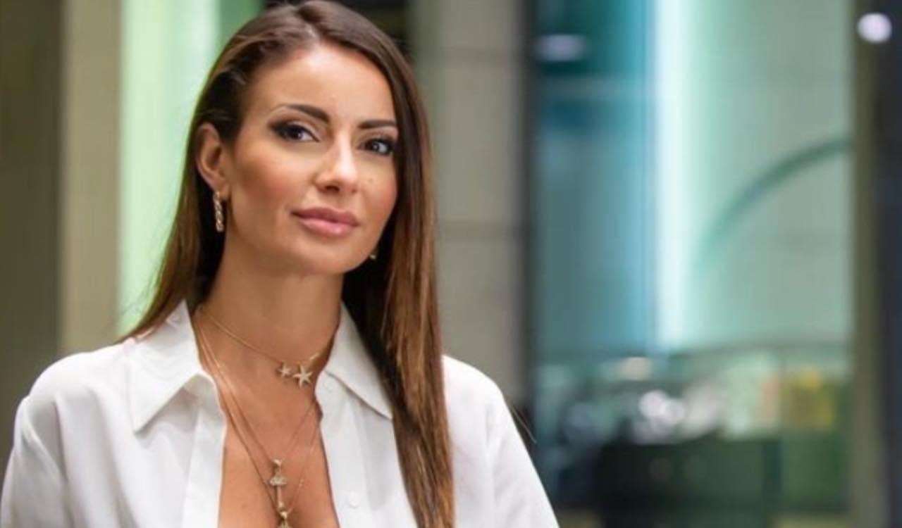Monica Bertini scollatura