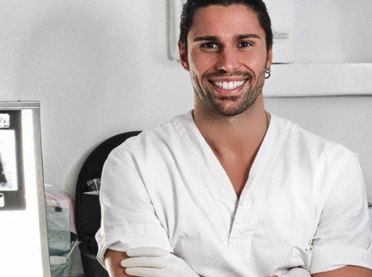 Luca studente di odontoiatria