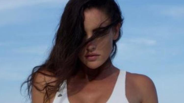 Lucia Javorcekova Bikini Bianco
