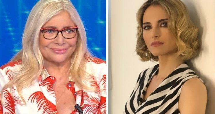 Mara Venier e Francesca Fialdini attriti