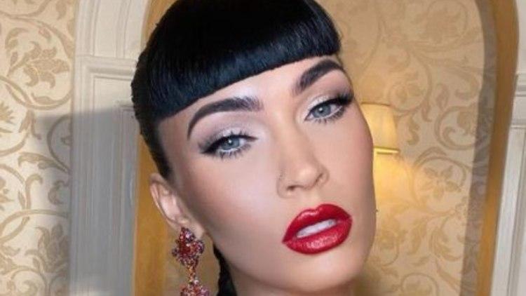 Megan Fox Vestito Rosso