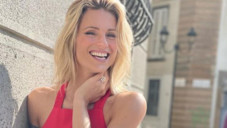 Michelle, conduttrice televisiva di Canale Cinque