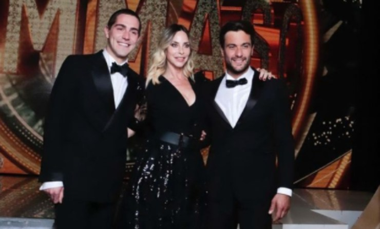 Stefania con Zorzi e Pretelli