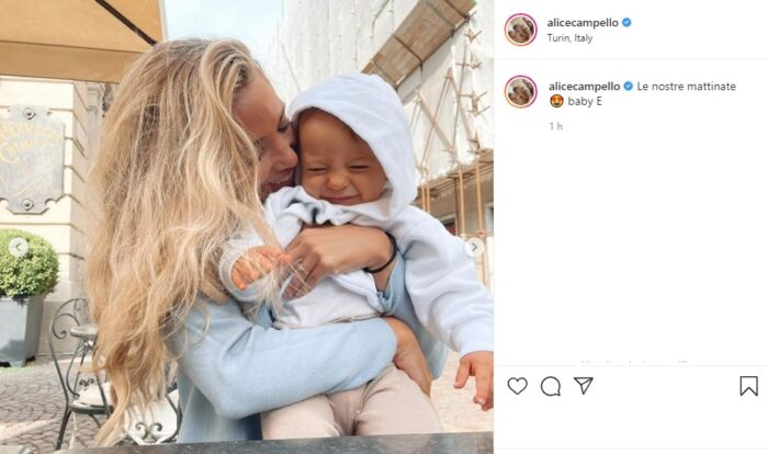 Alice Campello post Instagram