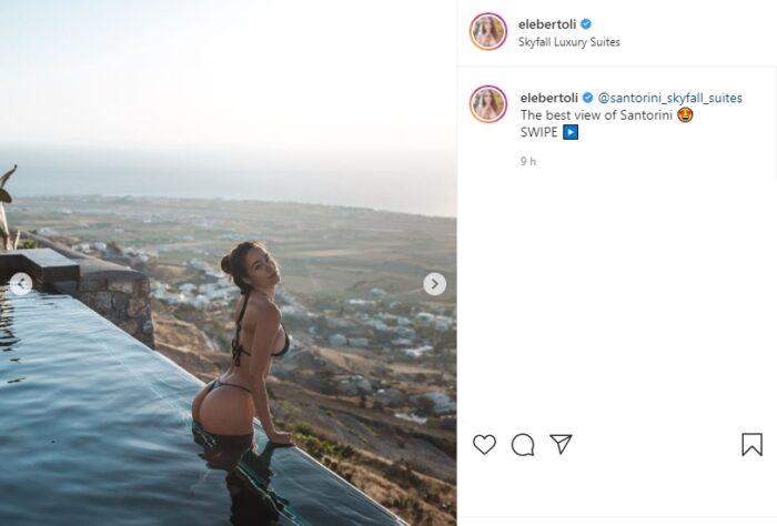 Eleonora Bertoli post Instagram