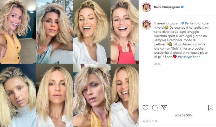 Michelle Hunkiker post Instagram