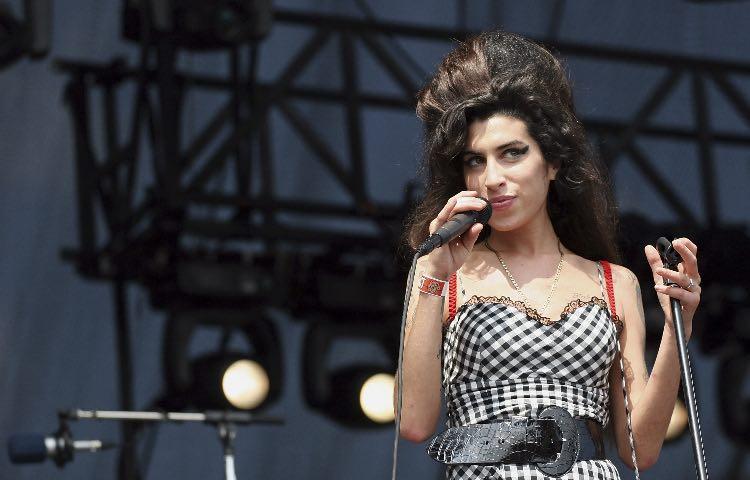 Amy Winehouse sul palco