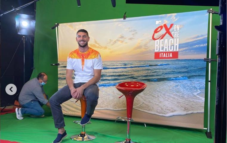 Ignazio Moser a Ex on the Beach