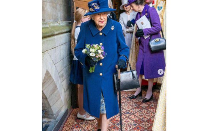 La Regina con il bastone