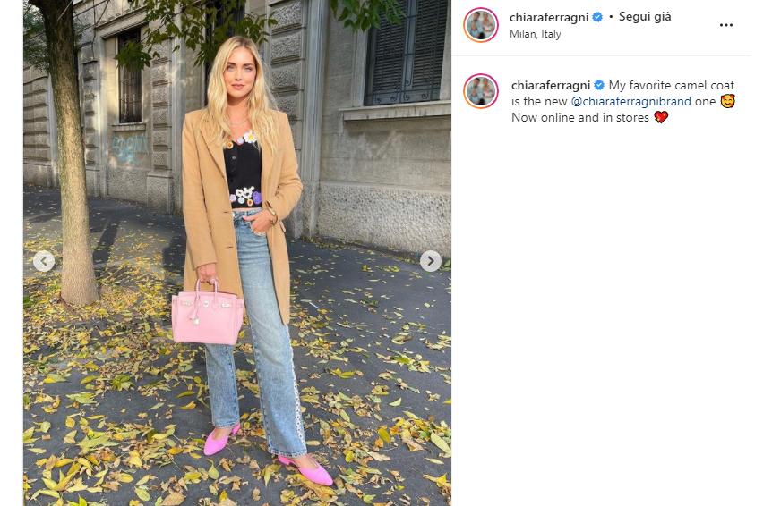 La borsetta rosa di Chiara