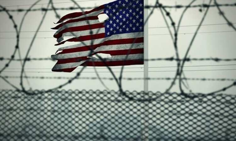 Filo spinato in carcere americano