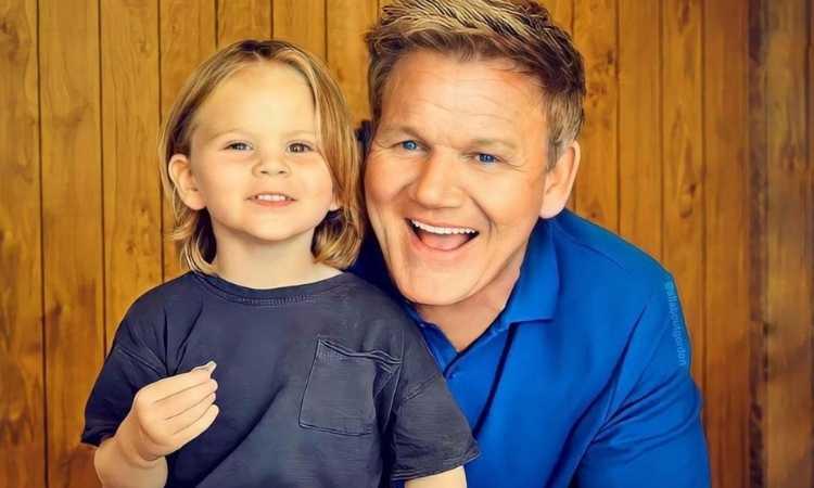 Gordon Ramsay e sua figlia