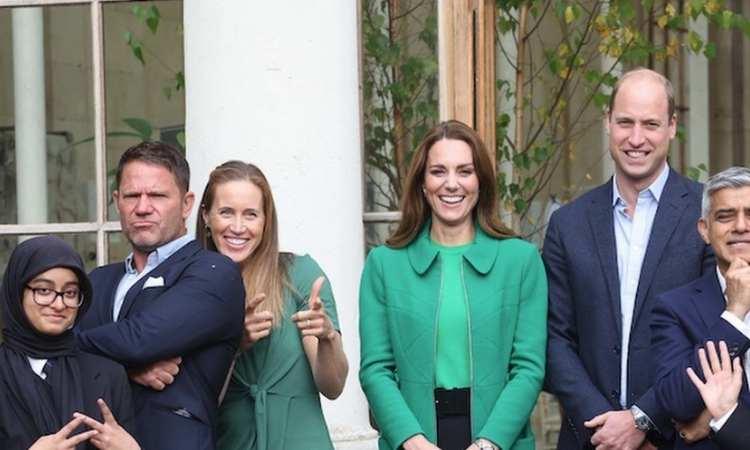 William e Kate insieme per la Terra