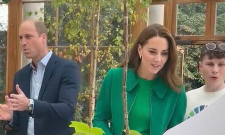 William e Kate a un evento a Londra